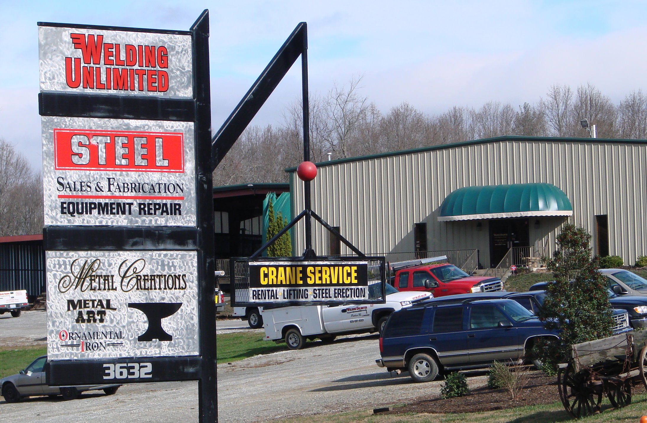 Welding Unlimited near Asheville nc