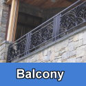 Iron and Steel Balcony Railings