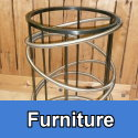 Custom metal furniture and furnishings