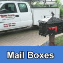 Custom metal mail boxes