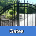 Custom steel and iron gates